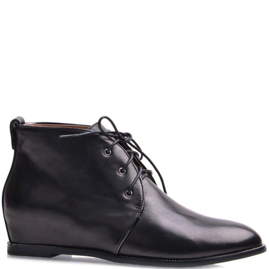Ботинки Grado женские кожаные со скрытым каблуком