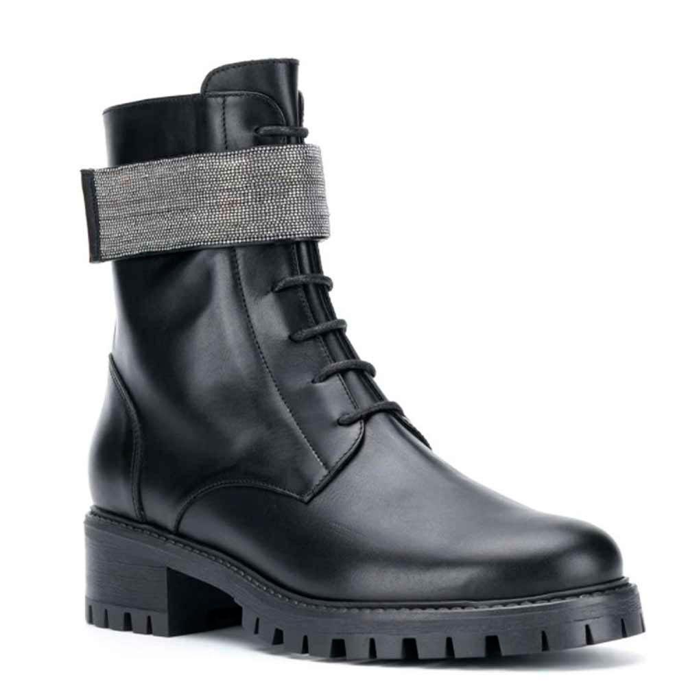 Ботинки Fabiana Filippi из черной кожи