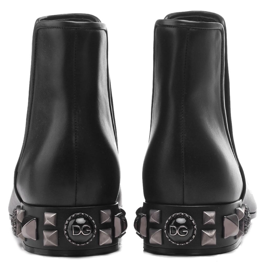 Ботинки-челси Dolce&Gabbana черного-цвета