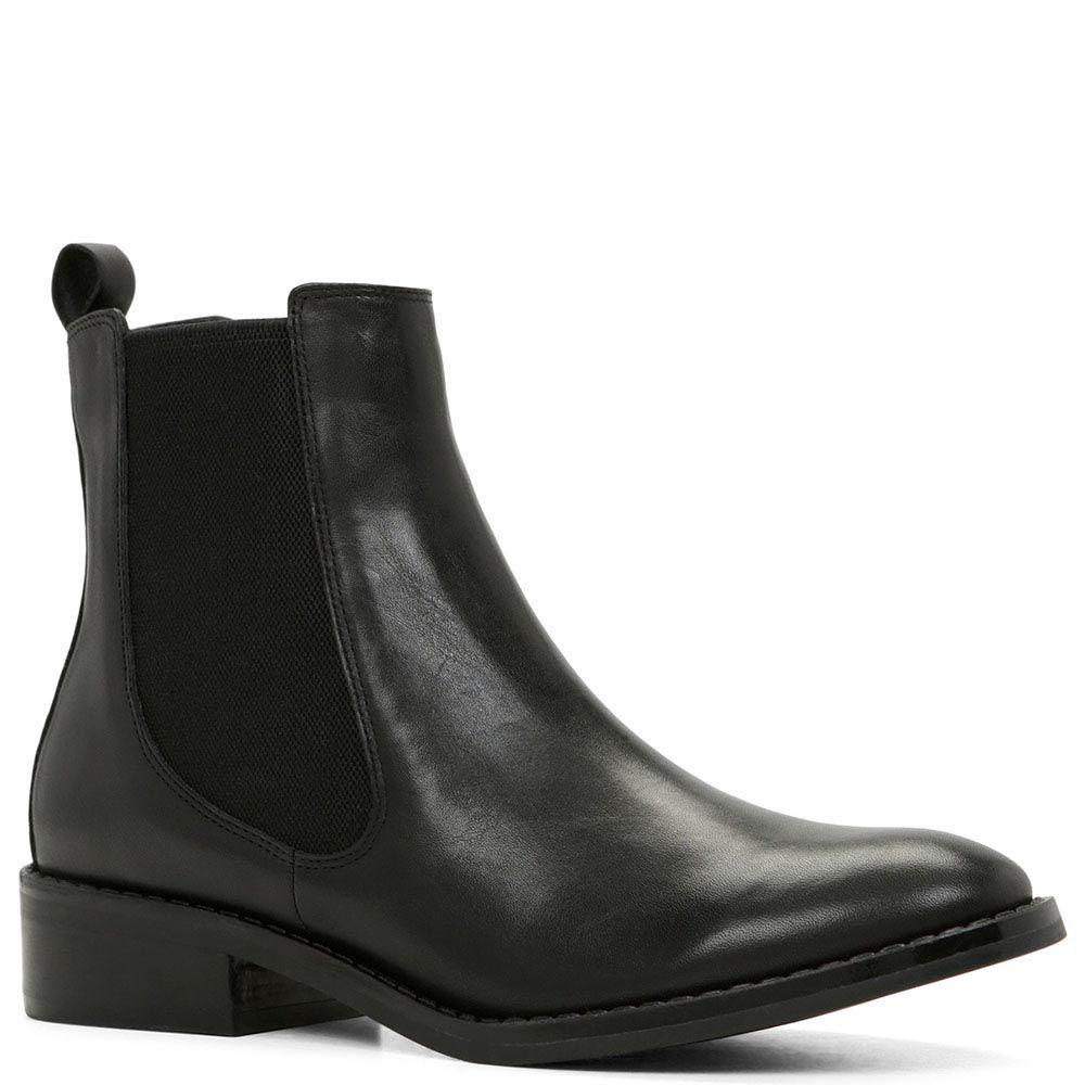 Демисезонные ботинки Aldo Cydnee из натуральной кожи черного цвета