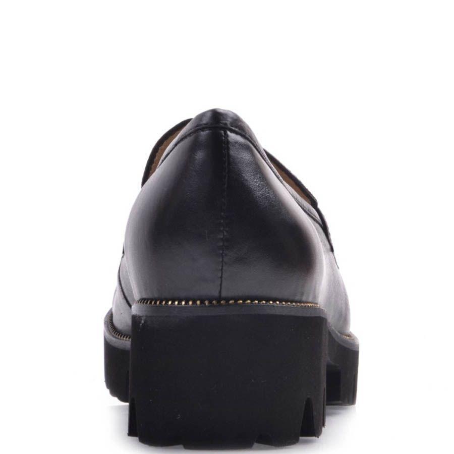 Лоферы Prego черного цвета с толстой подошвой
