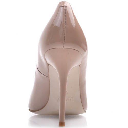 Туфли-лодочки Prego лаковые телесного цвета