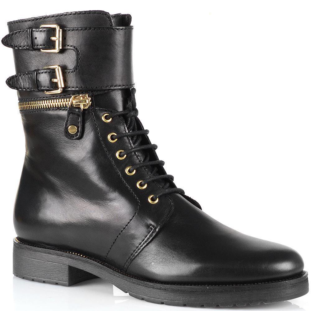 Демисезонные женские ботинки Bruno Premi на шнуровке