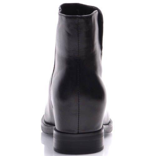 Ботинки Prego из гладкой кожи с коротким прямым голенищем