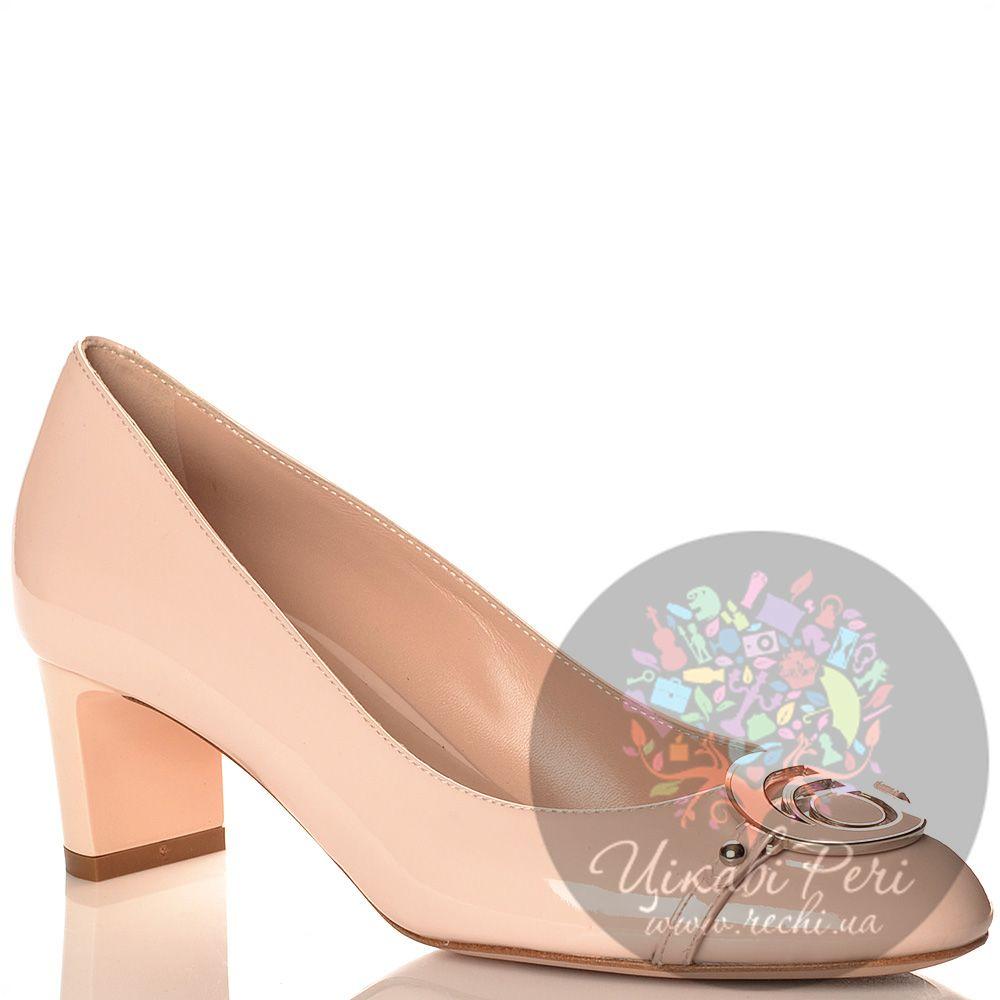 Туфли Giorgio Fabiani нежно-розовые леденцовые из лаковой кожи