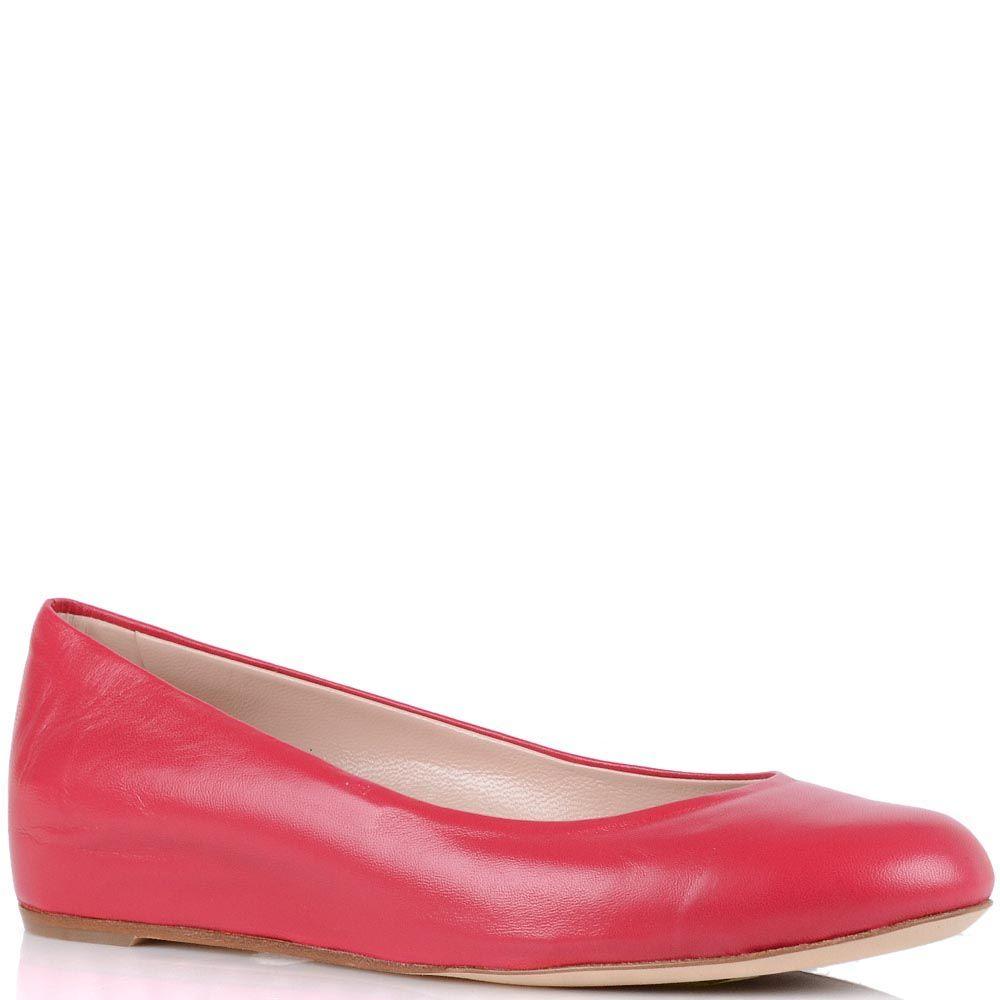 Кожаные туфли Giorgio Fabiani цвета фуксии