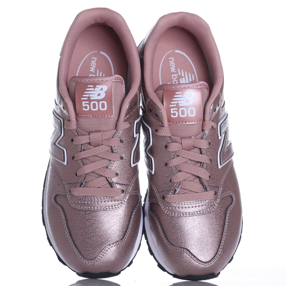 Кроссовки New Balance 500 розового цвета