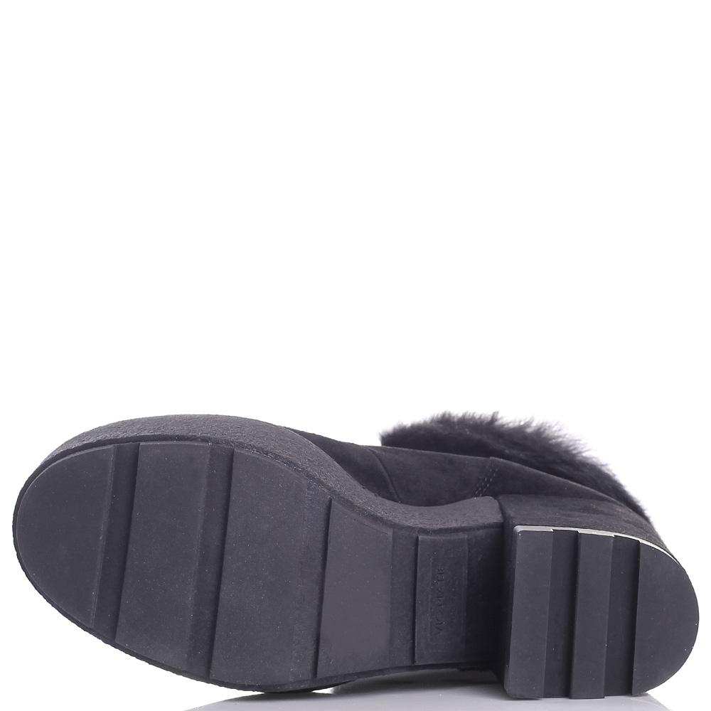 Зимние ботинки Vic Matie с меховой опушкой