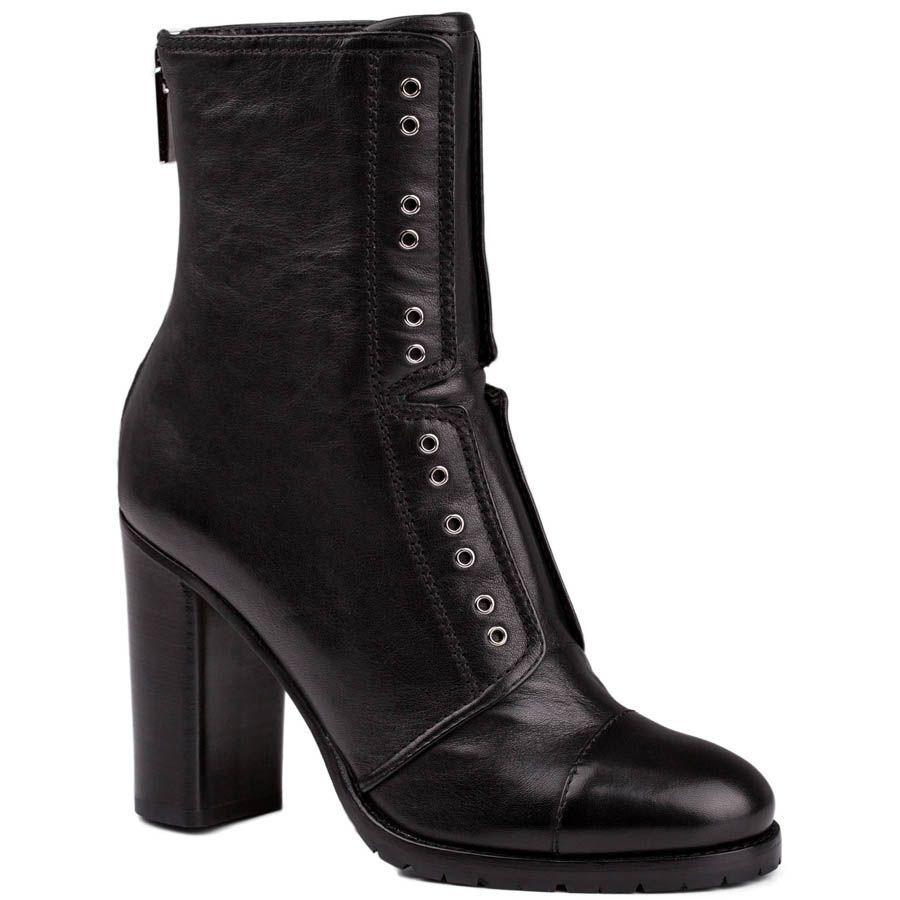 Ботинки Jimmy Choo черного цвета с декоративными люверсами
