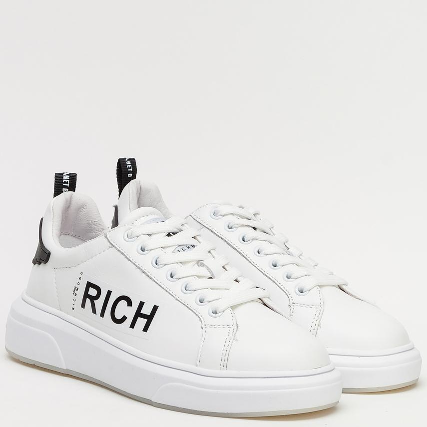 Кеды John Richmond белого цвета