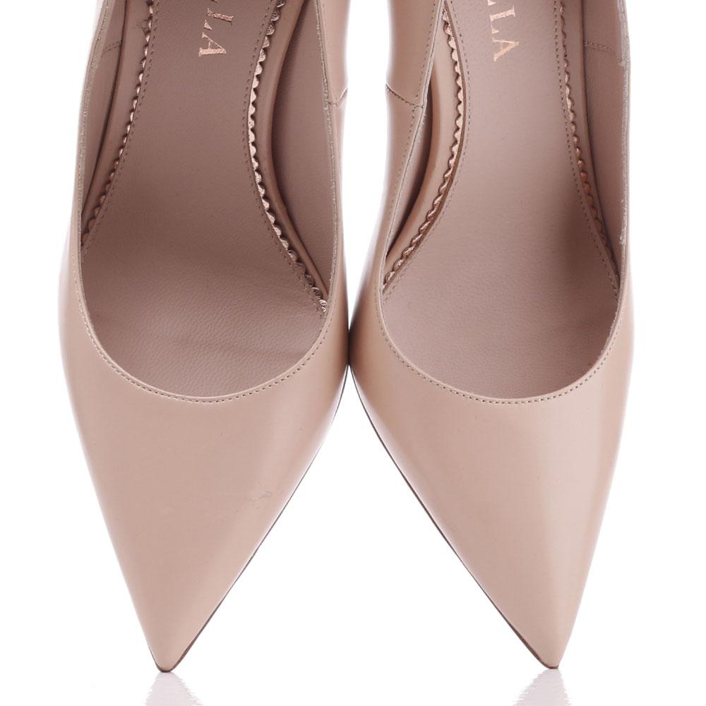 Бежевые туфли-лодочки Le Silla с острым носком