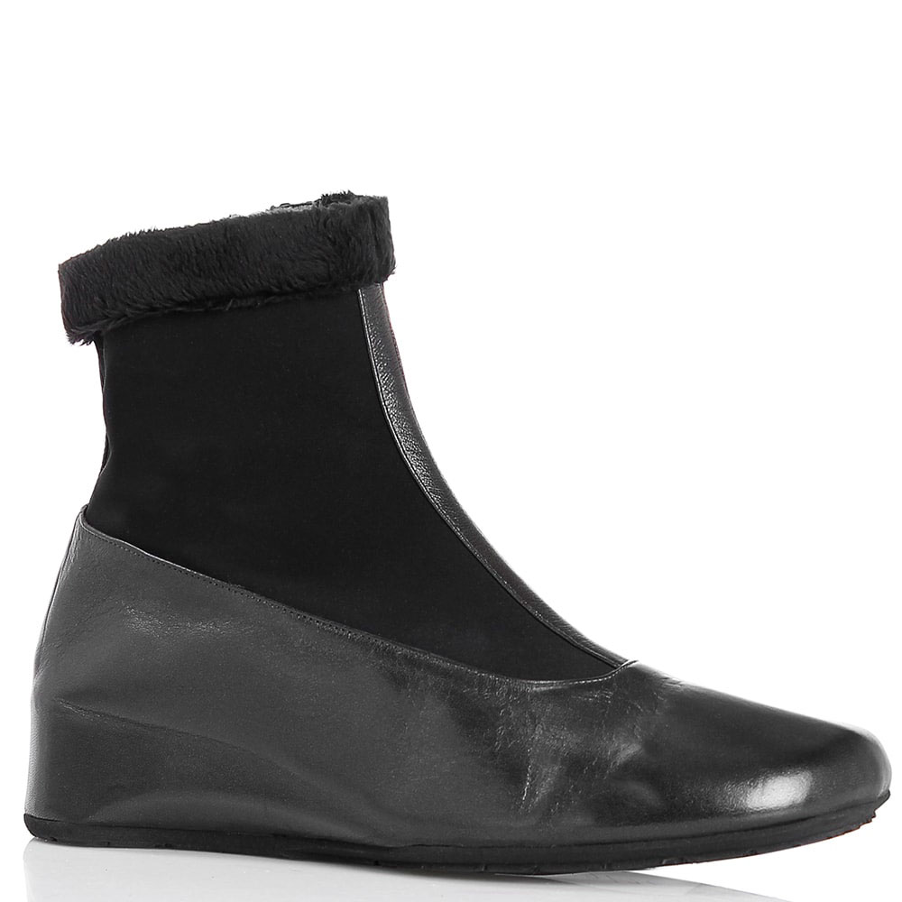Кожаные ботинки Thierry Rabotin на низкой скрытой танкетке