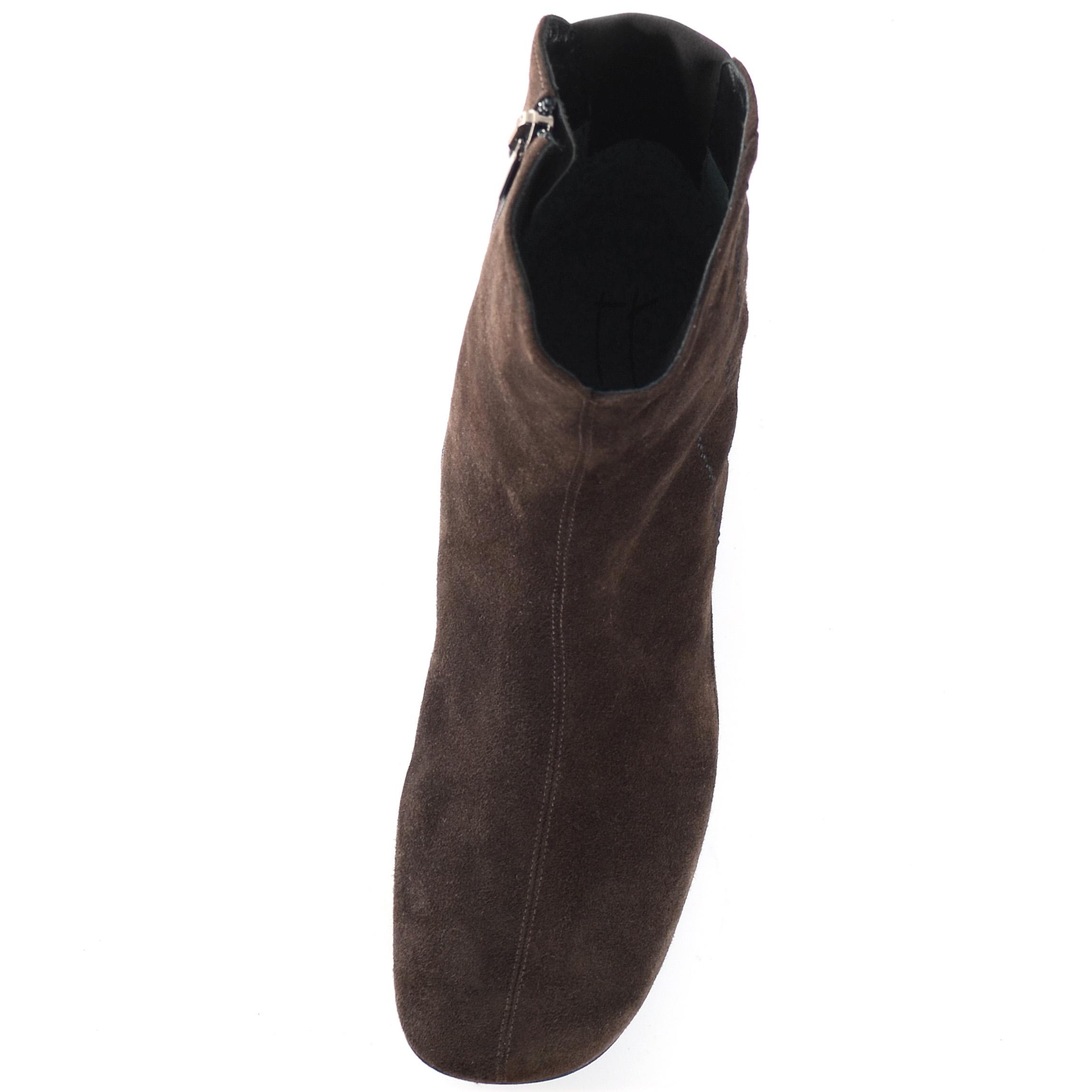 Замшевые ботинки Thierry Rabotin коричневого цвета