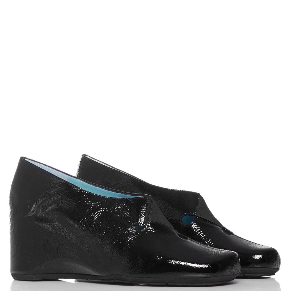 Черные туфли Thierry Rabotin из лаковой кожи