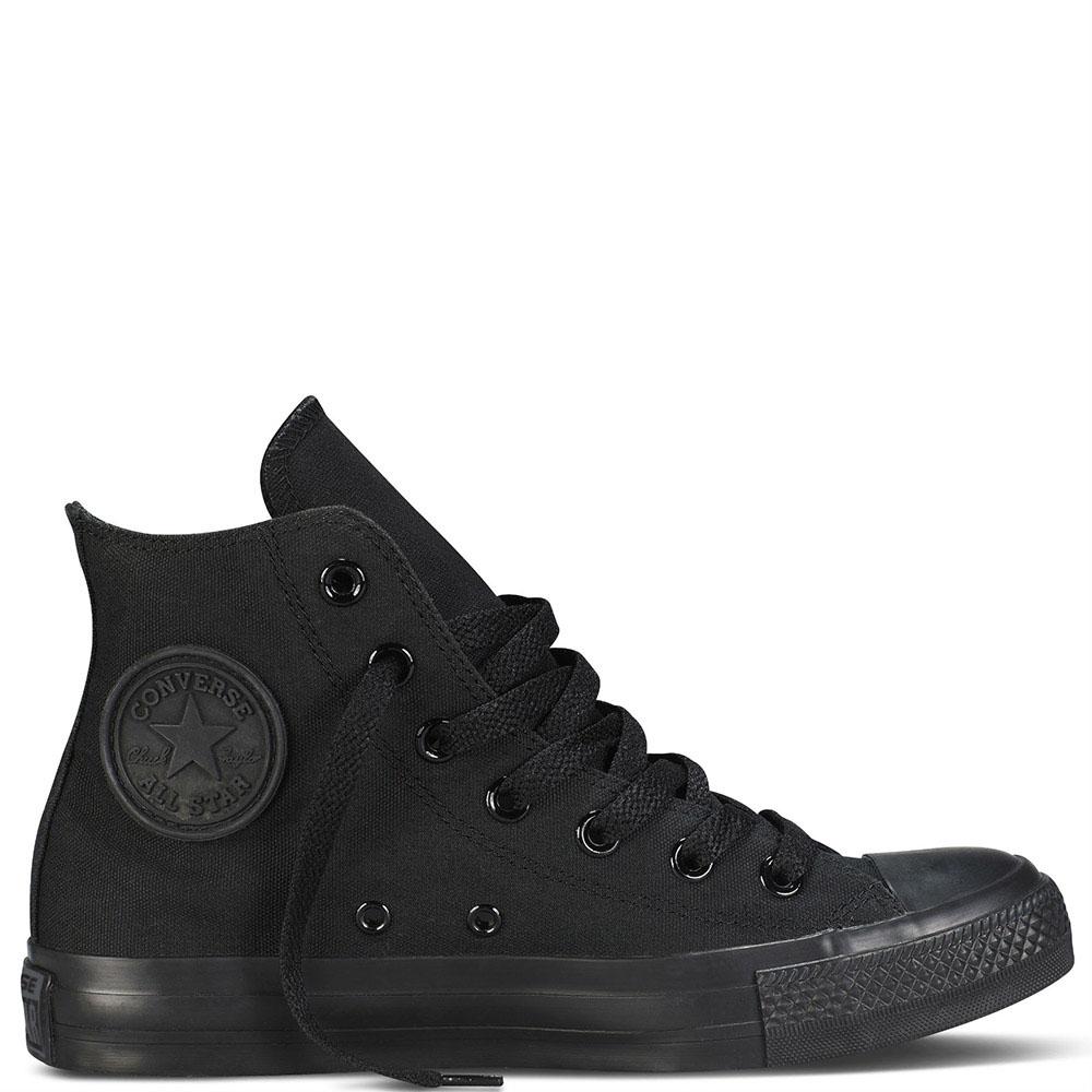 Высокие кеды Converse Chuck Taylor черного цвета