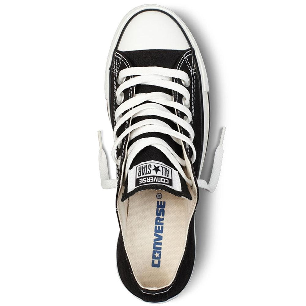 Черные кеды Converse Chuck Taylor с белой подошвой и шнуровкой