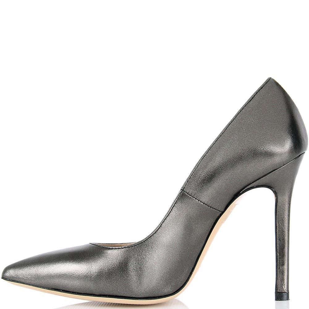 Туфли lEstrosa бронзового оттенка с каблуком шпилькой