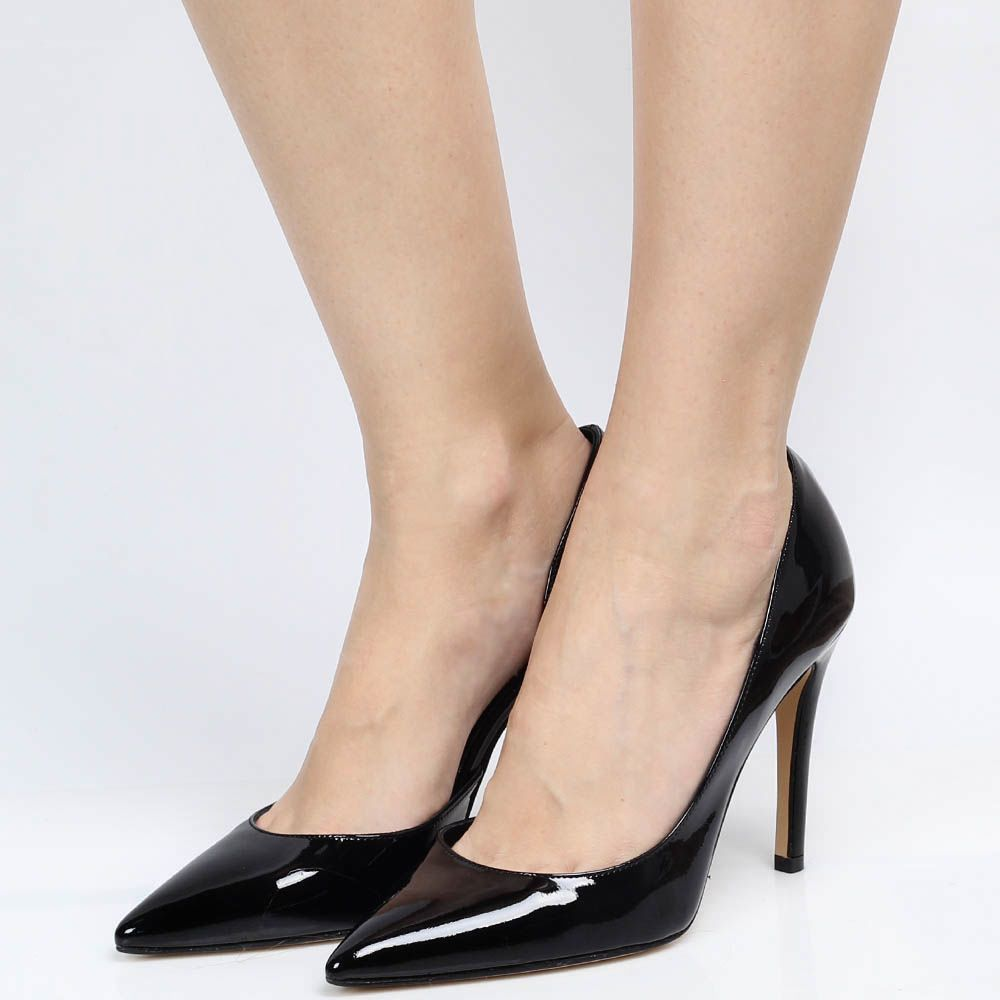 Туфли Bianca Di из черной лаковой кожи