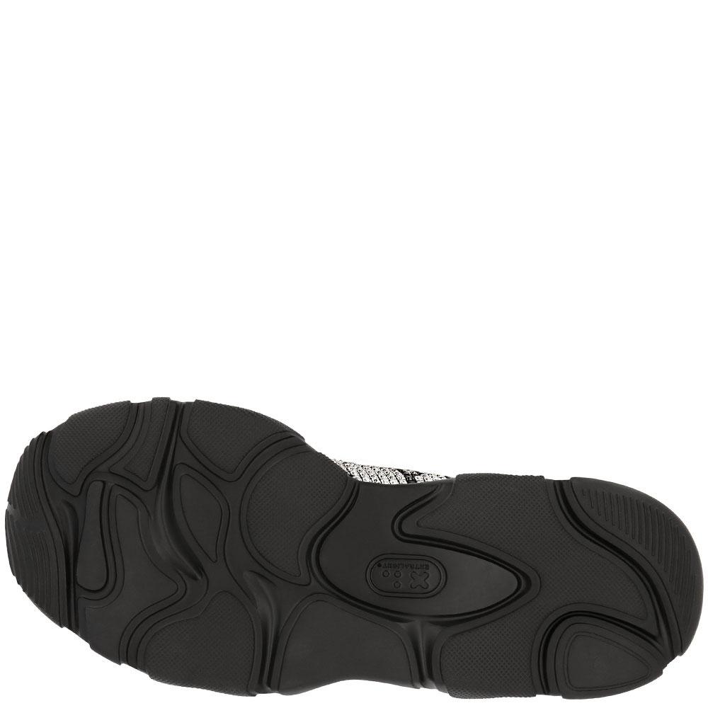 Черные кроссовки Philipp Plein Runner Gothic Plein со стразами
