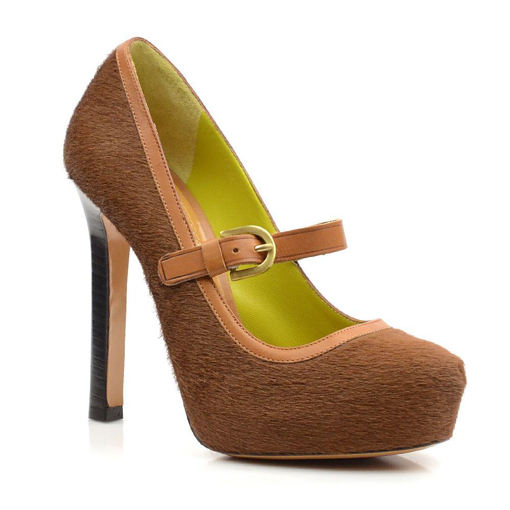 Женские туфли на высоком каблуке Pollini