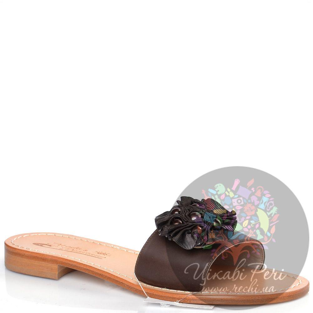 Сланцы Moda Positano Clara коричневые