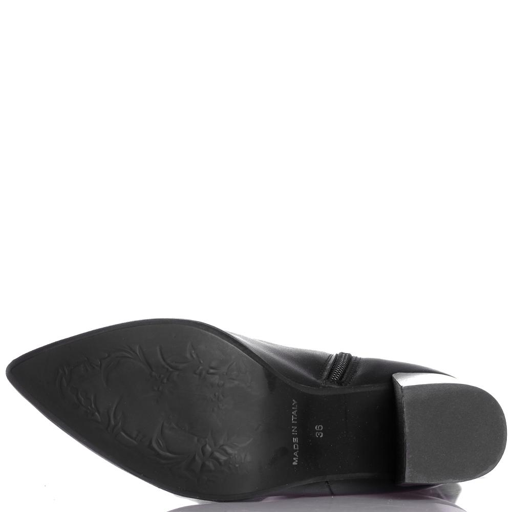 Черные сапоги Ovye by Cristina Lucchi с острым носочком