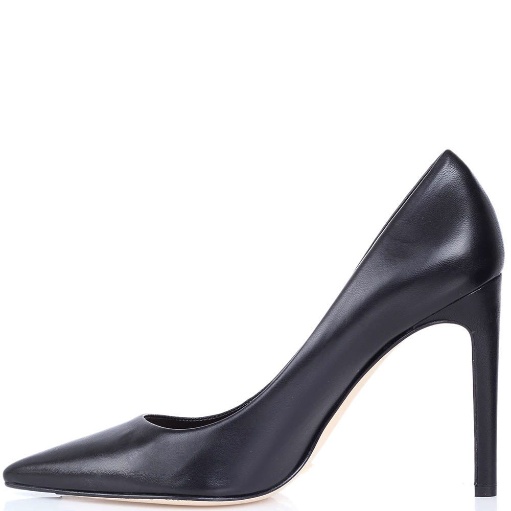 Туфли-лодочки The Seller из кожи черного цвета