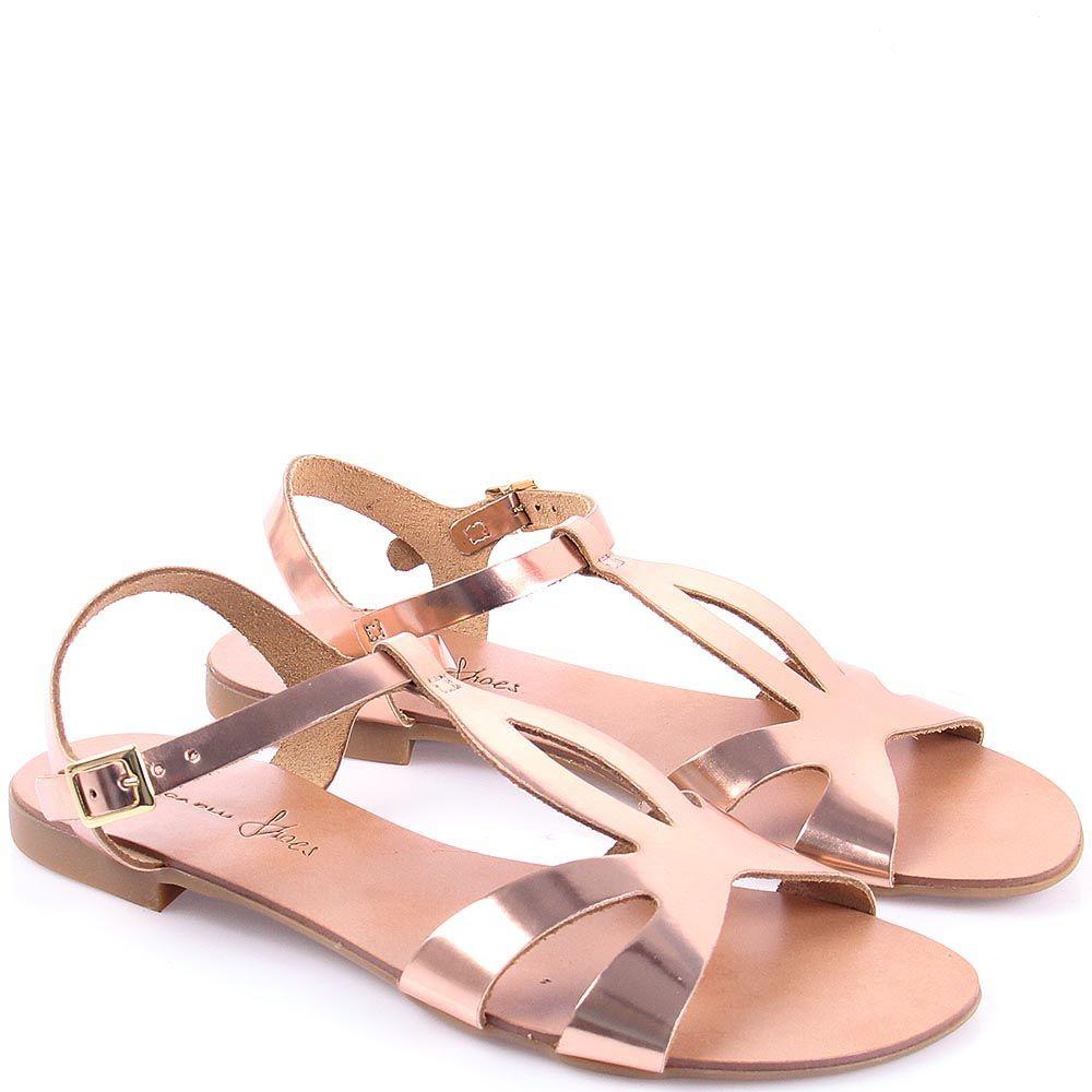 Сандалии Tosca Blu розовый металлик