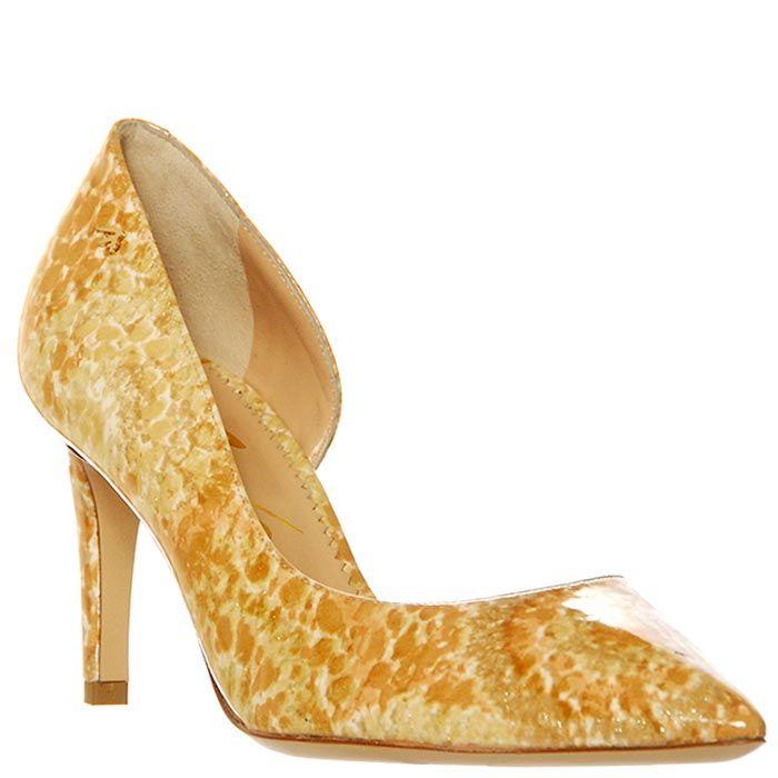 Туфли Marino Fabiani из натуральной кожи бежевого цвета