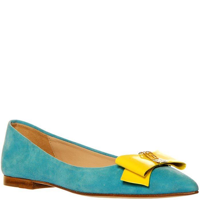 Замшевые туфли Marino Fabiani голубого цвета