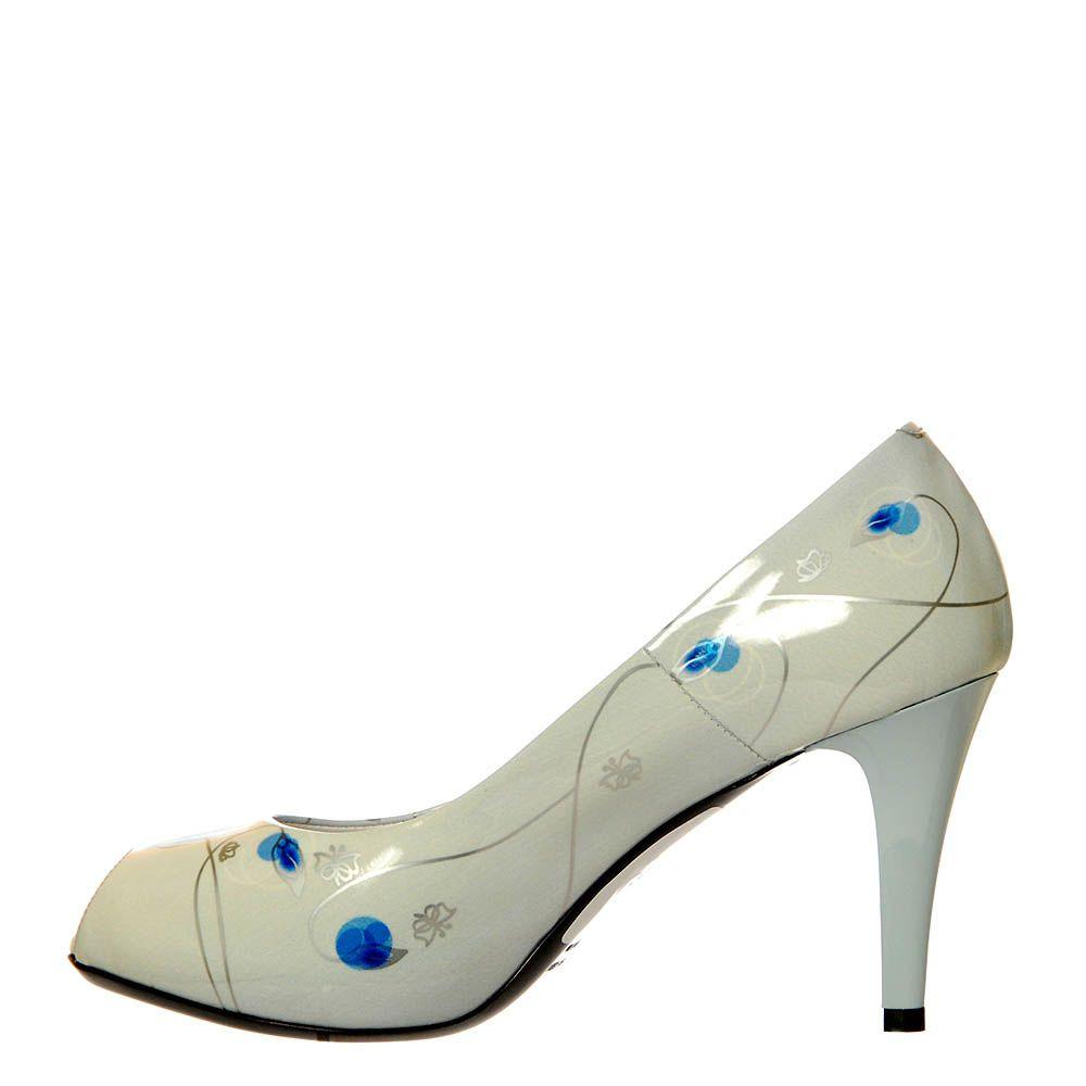 Туфли Marino Fabiani из натуральной кожи с открытым носочком