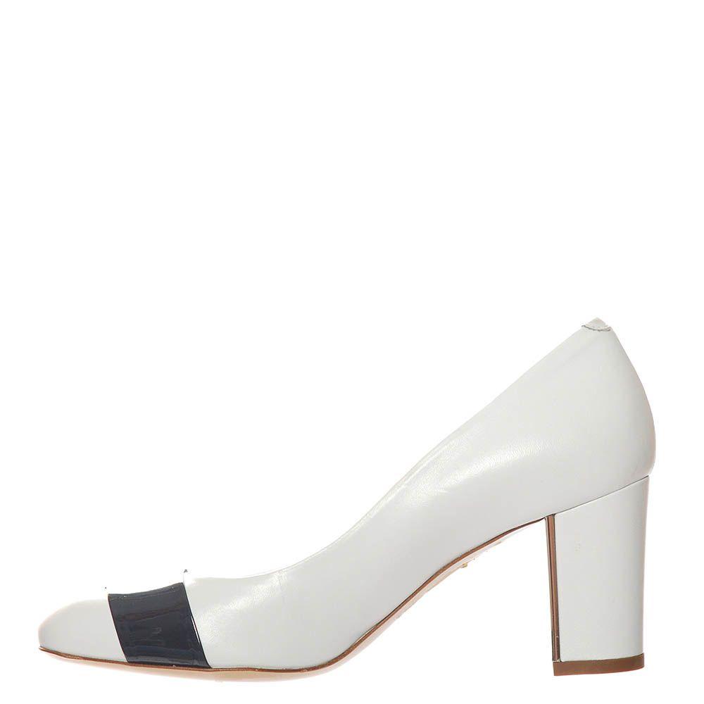 Туфли Marino Fabiani из натуральной кожи белого цвета