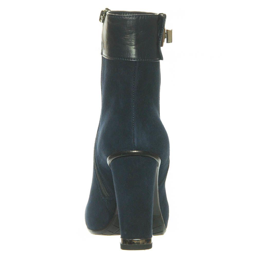 Замшевые ботинки Marino Fabiani зеленого цвета