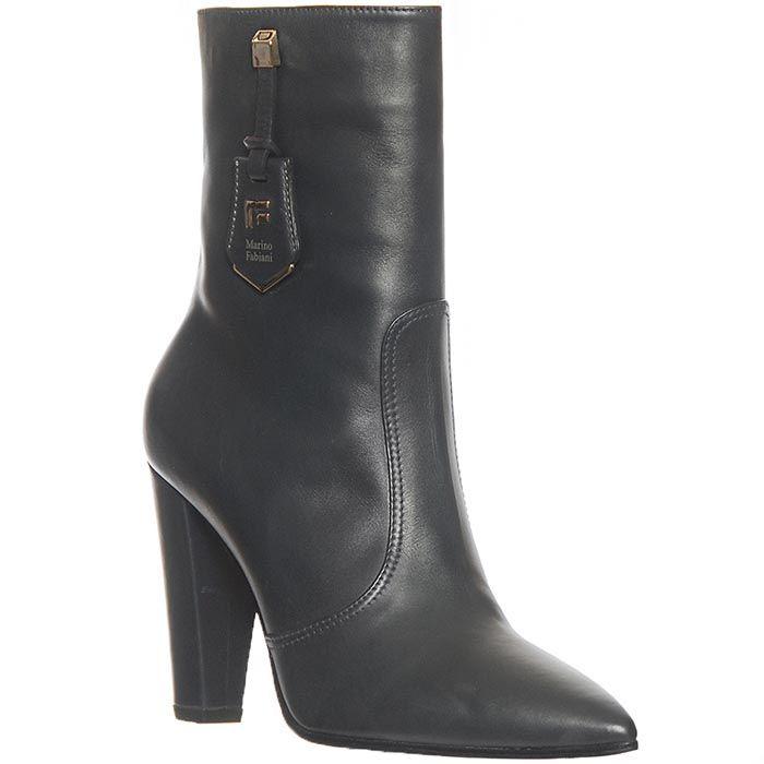 Ботинки Marino Fabiani из натуральной кожи черного цвета