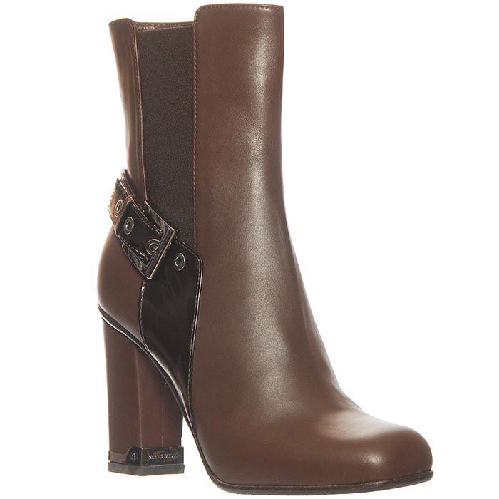 Ботинки Marino Fabiani из натуральной кожи коричневого цвета