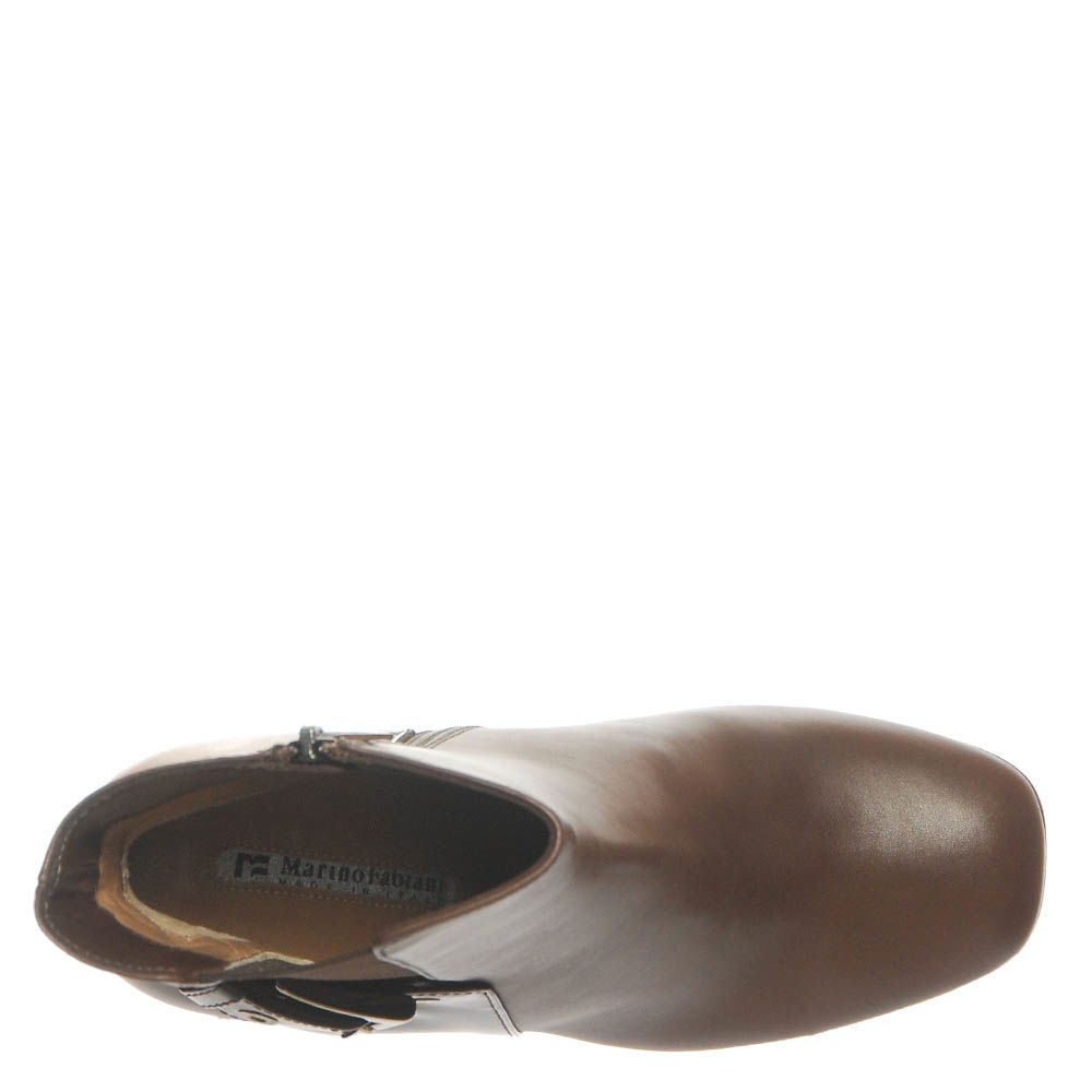 Ботинки Marino Fabiani из кожи коричневого цвета
