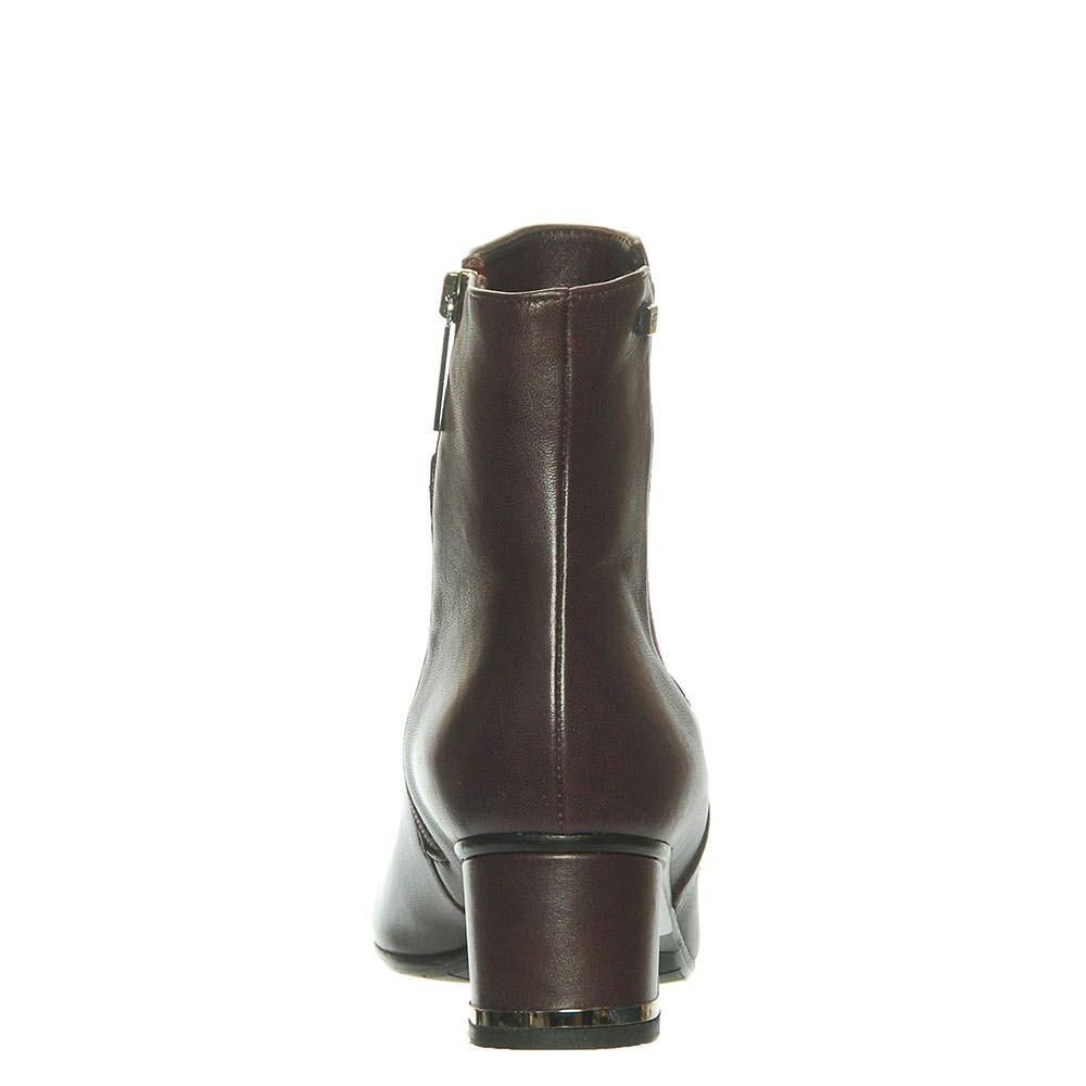 Ботинки Marino Fabiani из кожи цвета баклажана