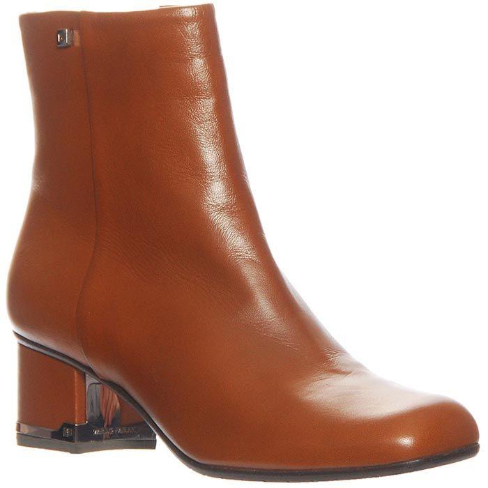 Ботинки Marino Fabiani из кожи горчичного цвета