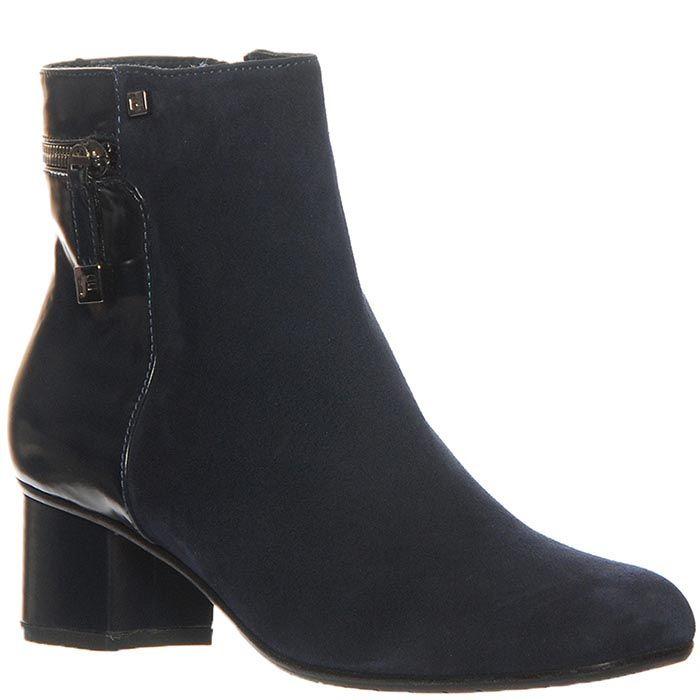 Замшевые ботинки Marino Fabiani темно-синие