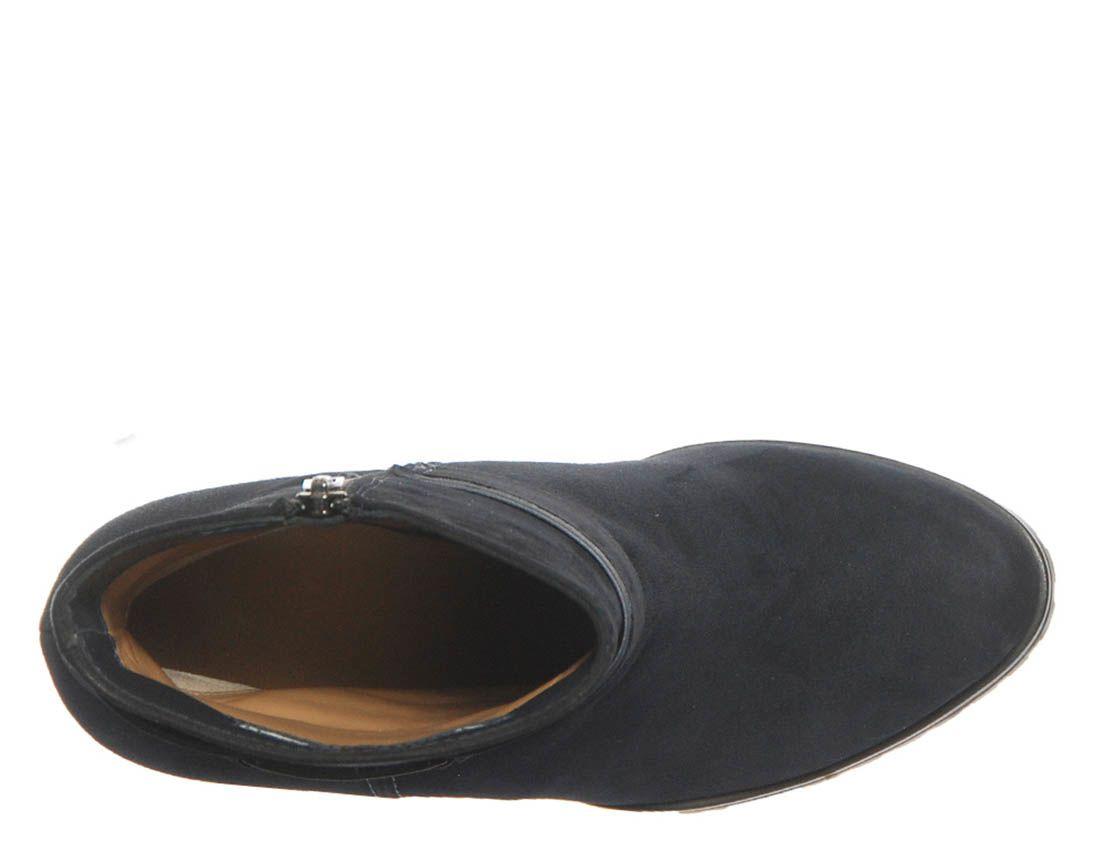 Демисезонные замшевые ботинки Marino Fabiani темно-синие