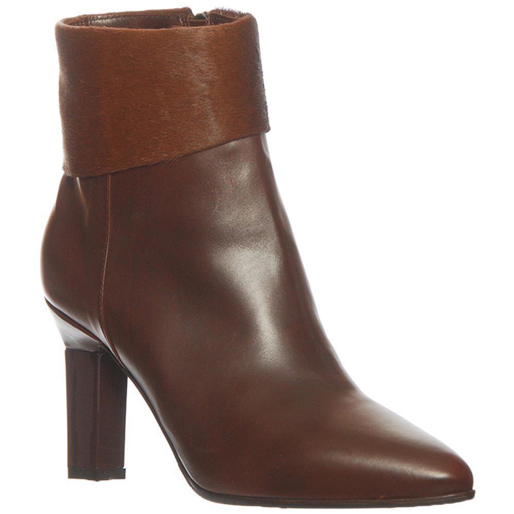Кожаные демисезонные ботинки Marino Fabiani коричневого цвета