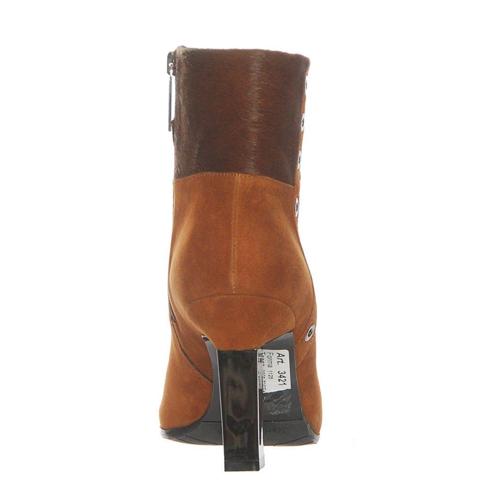 Замшевые демисезонные ботинки Marino Fabiani горчичного цвета