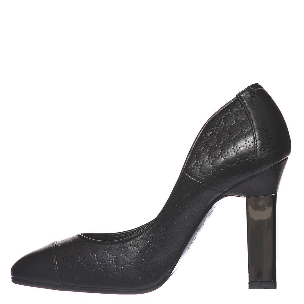 Туфли Marino Fabiani черного цвета из кожи