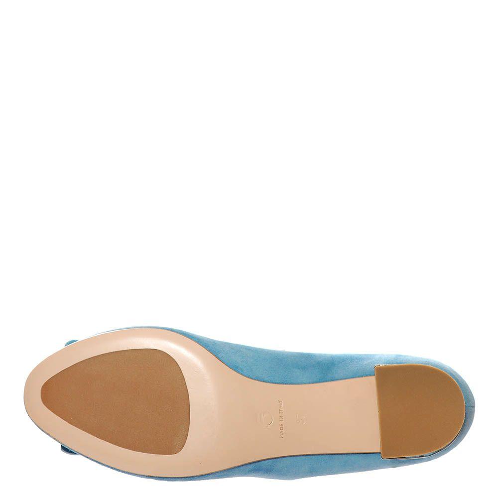 Замшевые туфли Giorgio Fabiani голубые