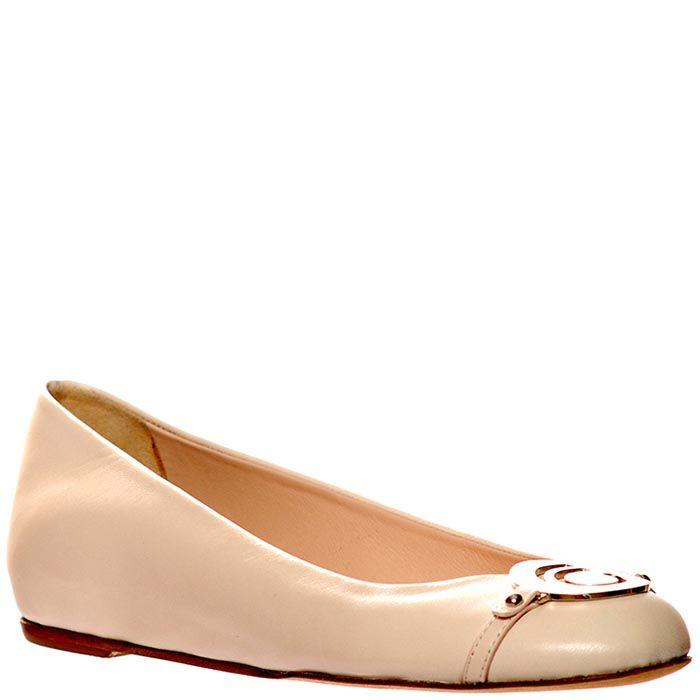Кожаные туфли Giorgio Fabiani розового цвета