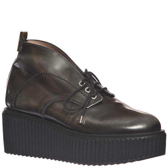 Демисезонные ботинки Giorgio Fabiani серого цвета