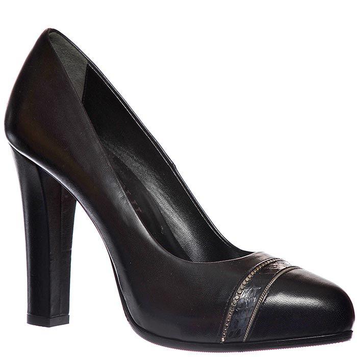 Туфли Loriblu из натуральной кожи черного цвета