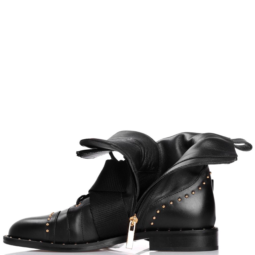 Ботинки Elisabetta Franchi с декором-заклепками
