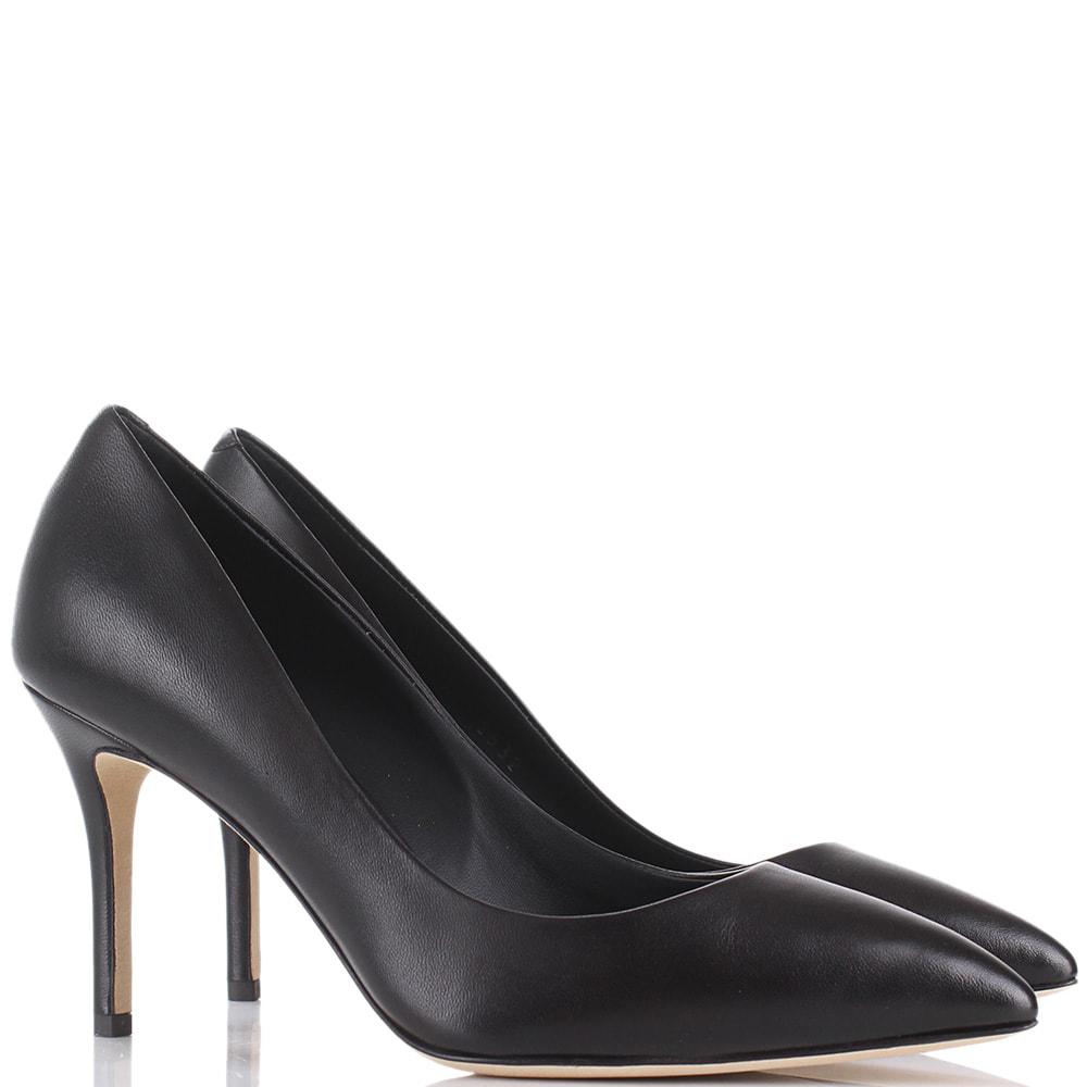 Туфли-лодочки Giuseppe Zanotti черного цвета