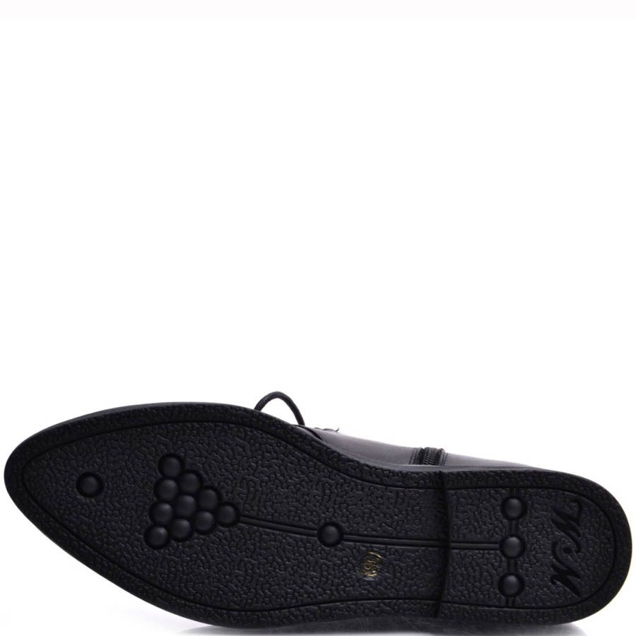 Ботинки Prego женские на шнуровке с металлическим декором